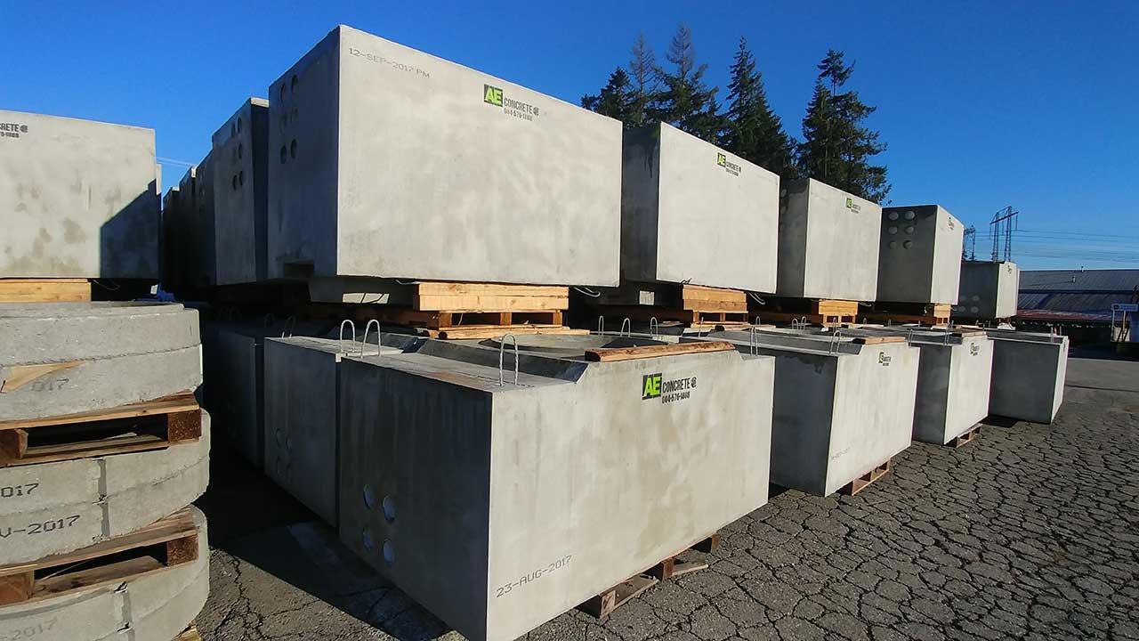 Precast Concrete Collar : Chamber collar ae concrete